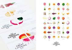 the great catering co. branding