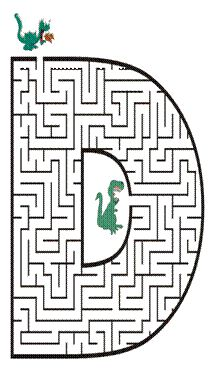 Free printable Maze in the shape of letter D. Kids love mazes, and letter shaped mazes also help with learning the alphabet Letter Activities, Preschool Worksheets, Activities For Kids, Mazes For Kids Printable, Free Printable, Letter Maze, Maze Book, Maze Worksheet, Maze Puzzles