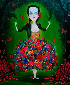 The dream world of Joan Alfaro #artpeople www.artpeoplegallery.com
