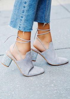 Nothing beats the sparkles on these pair of mules! (Source: API Shop Style)