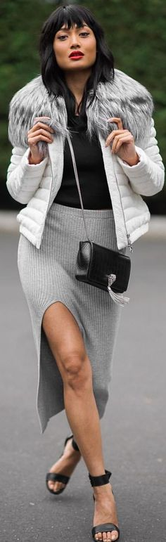 Gray And Black Fall Inspo by Micah Gianneli