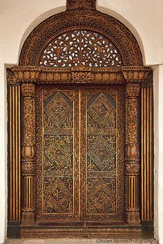 Door in Sudan | Africa | House of Wonders Inside Door. Toward the end of an ...
