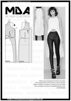 ModelistA: A4 NUM 0082 DRESS