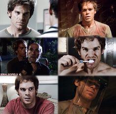 Michael C. Hall as Dexter Morgan