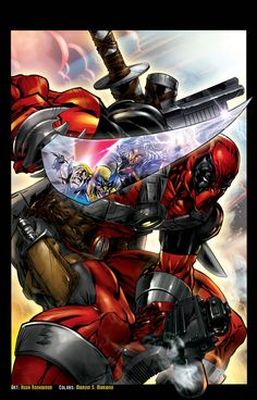 #Deadpool #Fan #Art. (DEAD-POOL) By: Chozenstudios. (THE * 5 * STÅR * ÅWARD * OF: * AW YEAH, IT'S MAJOR ÅWESOMENESS!!!™)[THANK U 4 PINNING!!!<·><]<©>ÅÅÅ+(OB4E)