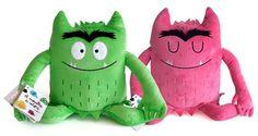 Monstruo De Colores Peluche Verde: Anna Llenas: Amazon.es: Juguetes y juegos