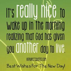 Good morning, God! ^_^