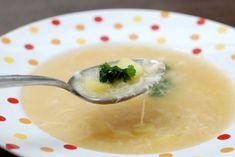 Fotorecept: Vajíčkovo-zemiaková polievka