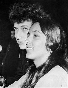 Bob Dylan and Joan Baez