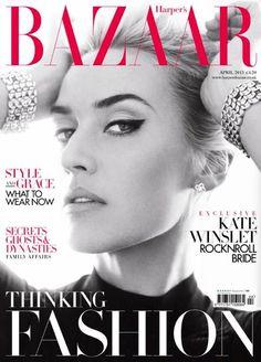 Harper's Bazaar, April 2013