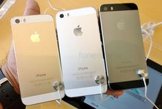 #apple #iphone5sgold    -hands-on-6