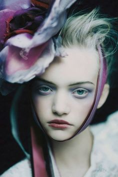 Publication: Vogue UK March 2004 Model: Gemma Ward Photographer: Paolo Roversi