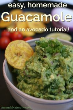 Guacamole Recipe | Avocado Tutorial | AmandaNaturally.com