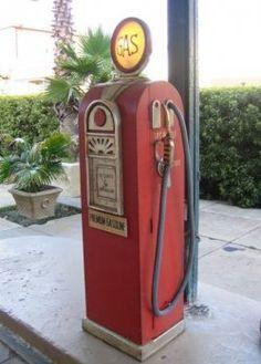 Antique and Vintage Gas Pumps