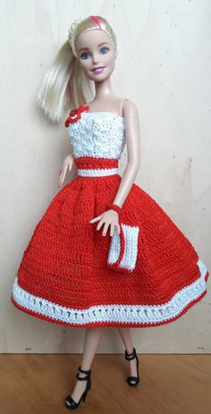 Sewing Barbie Clothes, Crochet Doll Clothes, Doll Clothes Patterns, Clothing Patterns, Ballet Fashion, Fashion Dolls, Fashion Outfits, Barbie Sets, Barbie Dolls