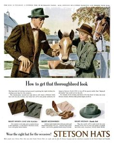 Stetson 1947 advertisement