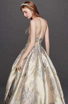 Brocade Wedding Gown