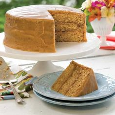 Brown-Sugar Caramel Cake//Taste of the South Magazine