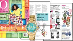 Ready for Spring? Add a little Spring to your look with this hip watch with Swarovski® crystals, featured in @Oprah Magazine #BetterStartsNow  Citizen Drive POV model featured (FD3002-51X) $295
