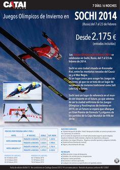 Juegos Olímpicos de Invierno en SOCHI, Rusia, del 7 al 23 febrero, 7 días/6 noches desde 2.715€ - http://zocotours.com/juegos-olimpicos-de-invierno-en-sochi-rusia-del-7-al-23-febrero-7-dias6-noches-desde-2-715e/