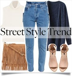 School Style Trend by madeinmalaysia featuring a blue top