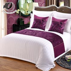 2018 High Quality Factory Wholesale Decoration Hotel Bed Runner And Cushion - Bed and Bedcover Comfy Bedroom, Bedroom Bed Design, Bed Linen Design, 3 Bedroom House, Bedroom Colors, Bedroom Decor, Luxury Bedroom Furniture, Luxury Bedding, Bed Cover Design