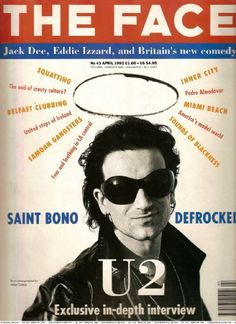 Bono - The Face Magazine [United Kingdom] (April 1992)