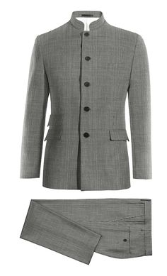 Grey Mao Houndstooth 100% Wool Suit http://www.tailor4less.com/en-us/men/suits/4016-grey-mao-houndstooth-100-wool-suit