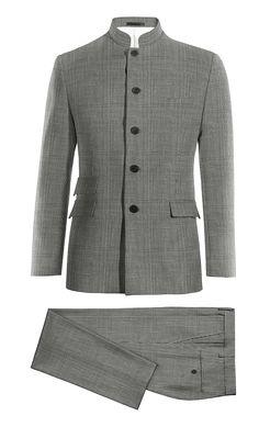 online retailer 3a851 c6ff2 Grey Mao Houndstooth 100% Wool Suit httpwww.tailor4less.com