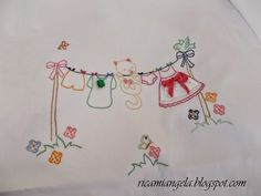 Hand Embroidery Videos, Embroidery Stitches Tutorial, Embroidery Flowers Pattern, Baby Embroidery, Embroidery Needles, Hand Embroidery Designs, Vintage Embroidery, Beaded Embroidery, Cross Stitch Embroidery