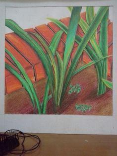 Rumput yang bergoyang (40×40 )