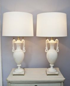 Vintage Pair of Carved Alabaster Table Lamps Lights | eBay | SORT ...