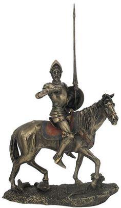 Don Quixote on Horse Sculpture