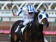 Ben Melham rides the Peter Moody trained Dissident