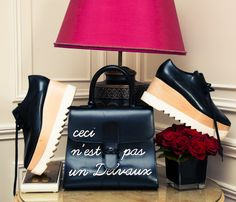 Her accessories are the ones we are currently holding in our imaginary Net-A-Porter shopping cart. http://www.thecoveteur.com/sofie-valkiers-blog/