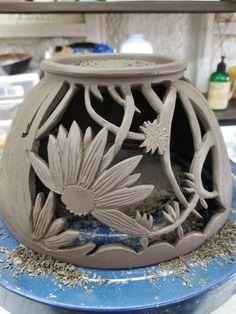 Ceramic Clay, Ceramic Bowls, Ceramic Pottery, Pottery Art, Pottery World, Pottery Videos, Clay Bowl, Hand Built Pottery, Keramik Vase