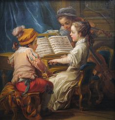 Music, 1753 by Maulleigh