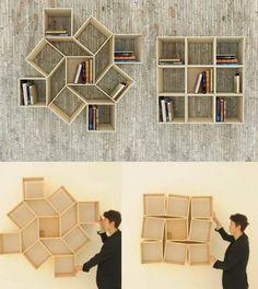 Movable shelf display .