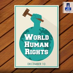 """""""The evolution of the human rights movement clearly illustrates humanity's ongoing struggle toward creating a better world."""" Happy Human Rights Day."""