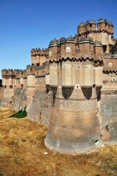Castillo de Coca towers, Segovia