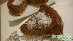 Kókuszos csokis sajttorta - FittKonyha