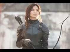 The Hunger Games: Mockingjay Katniss Everdeen Makeup - http://showatchall.com/craft/the-hunger-games-mockingjay-katniss-everdeen-makeup/