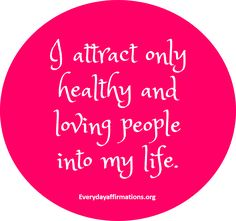 Daily Affirmations 18 February 2016