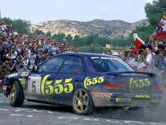 Carlos Sainz - Luis Moya, Subaru Impreza rally car