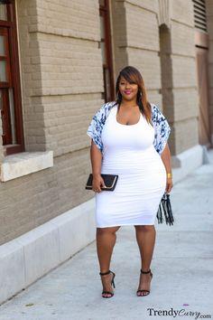 Trendy Curvy | Plus Size Fashion & Style Blog | Fringe Benefits