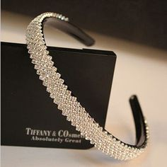 Cheap jewelry import, Buy Quality jewelry bones directly from China jewelry dome Suppliers: Productdepiction:15mm width Fashion women luxurious crystal headband rhinestone hairband bridal hair accessories