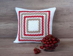 Check out this item in my Etsy shop https://www.etsy.com/listing/474389141/cool-crochet-decorative-pillow-fancy