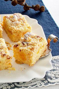 Ultimativ saftiger Kuchen mit Mandarinen und Streuseln!