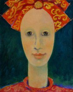 Lita van Engelenhoven. loving memories 30 x 24 cm oil - canvas