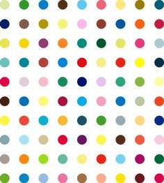 """Damien Hirst """"Dots"""", saw it years ago in Madre, Naples Art Advisor, Damien Hirst, Dot Painting, Pattern Art, Art And Architecture, Textures Patterns, Deco, Unique Art, Contemporary Art"""